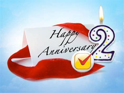 Happy 2nd Wedding Anniversary   Happy Anniversary Quotes