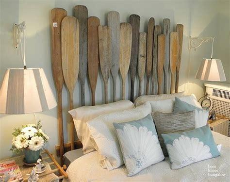 decorative wooden oars  decorating ideas nautical