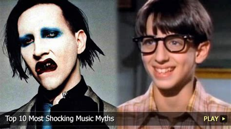 marilyn manson child actor wonder years top 10 most shocking music myths watchmojo