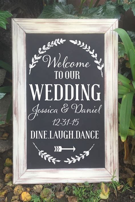 12 etsy wedding signs we - Wedding Signs