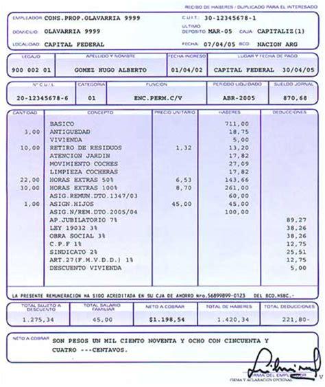 recibo de sueldo provincia de corrientes tu sueldo taringa