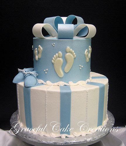 All White Baby Shower Cake by 25 Best Ideas About Boys Christening Cakes On