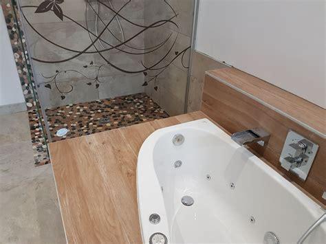 Salle De Bain Avec Baignoire Balneo r 233 alisations salle de bain avec baignoire baln 233 o gerber