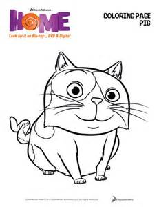Galerry dreamworks home oh coloring pages