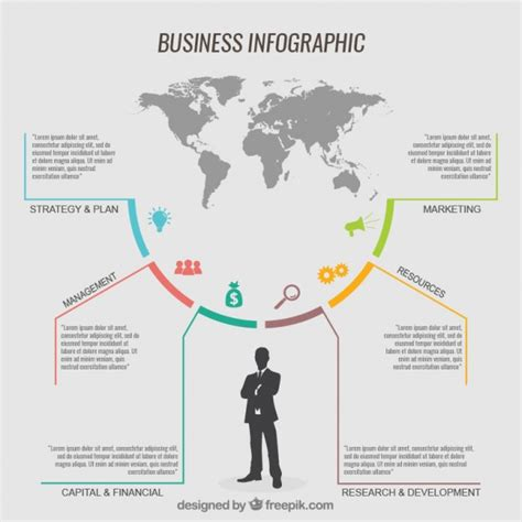 template infographic business infographic template vector premium
