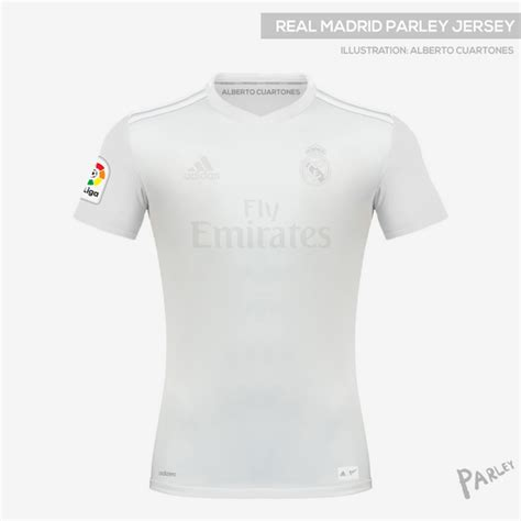 design jersey real madrid real madrid parley jersey