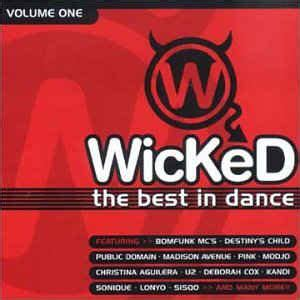 wicked    dance volume   cd discogs