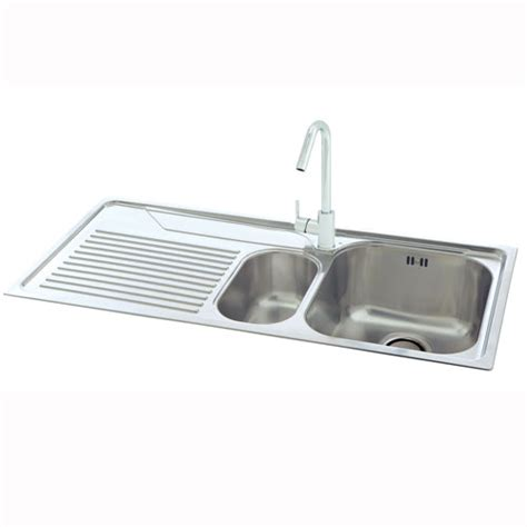 carron kitchen sinks carron phoenix lavella 150 kitchen sink stainless steel