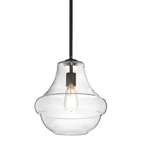 Kichler Lighting Sale Kichler Everly One Light Olde Bronze Pendant On Sale