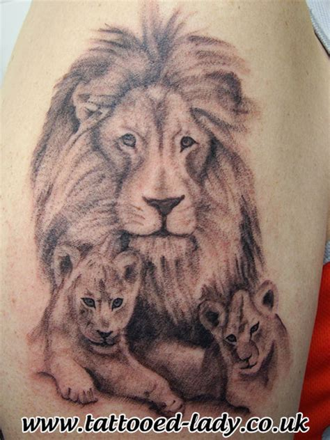 lion cub tattoo cubs up tattoos cubs