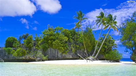 tropical island paradise tropical island paradise background wallpaper