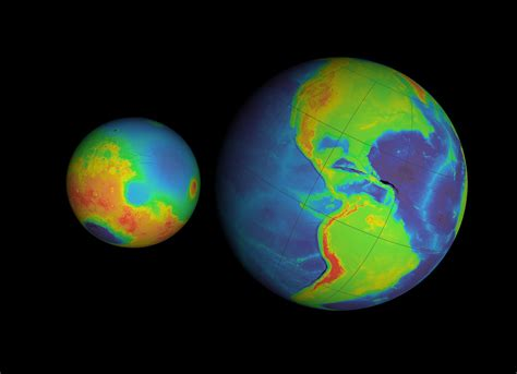 what gives mars its color svs earth mars planet comparisons false color with axes