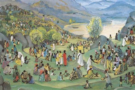 painting on mafa worshiping with children june 2011