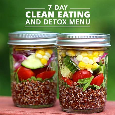 1 Meal A Day Detox by 7 Day Clean And Detox Menu New Year S Juice And