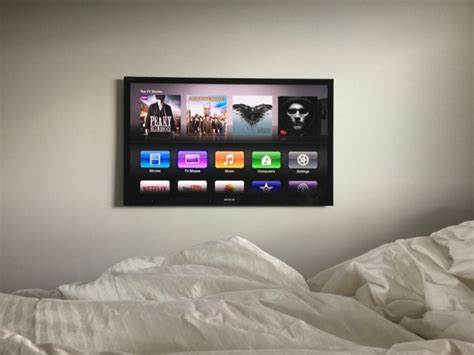 best flat screen tv for bedroom mac setup a gorgeously minimalist apple household
