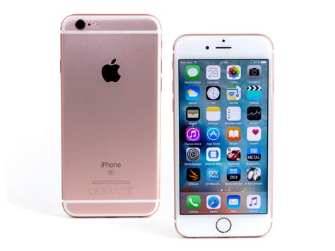 apple iphone 6s notebookcheck info