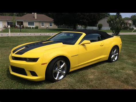 chevrolet camaro ss convertible youtube