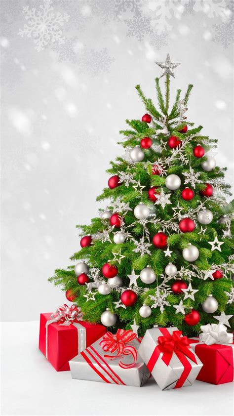 wallpaper christmas  year gifts fir tree snow  holidays