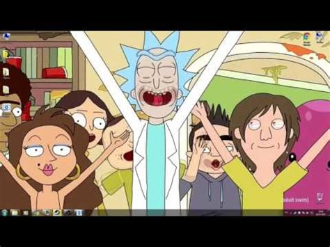 wallpaper engine rick and morty wallpaper engine rick morty youtube
