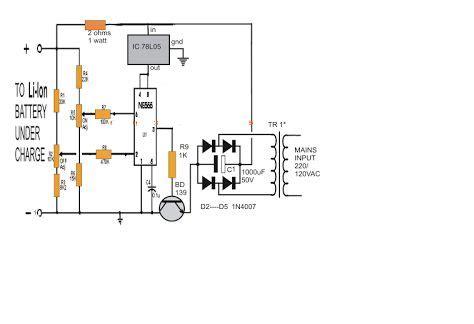 Motorrad Batterie 11 7v by Lithium Ionen Akku Ladeger 228 T Schaltung Mit Ic 555 Genstr
