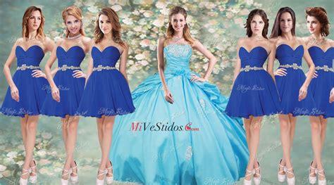 de quinse y sela cojen vestidos color aqua para damas