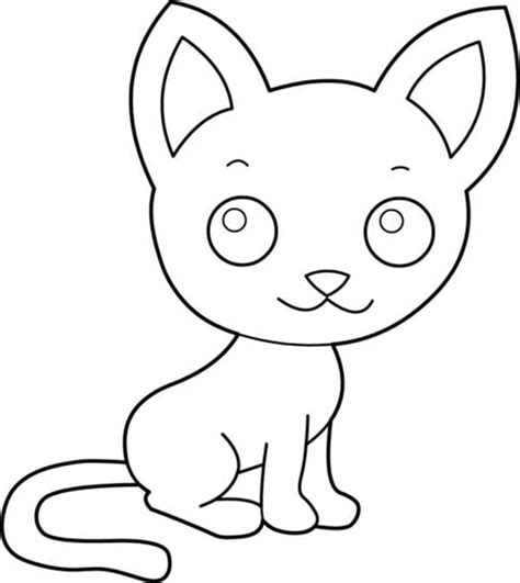 cutest cat coloring page cute cat coloring pages cutest animal ever gianfreda net