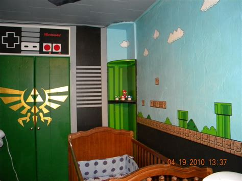 zelda themed bedroom nintendo baby room by therealsurge on deviantart