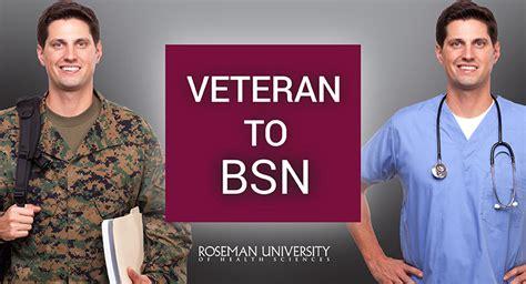 Veterans Bsn Vbsn Of Michigan by How Veterans Become Nurses 4 Reasons To Choose Roseman