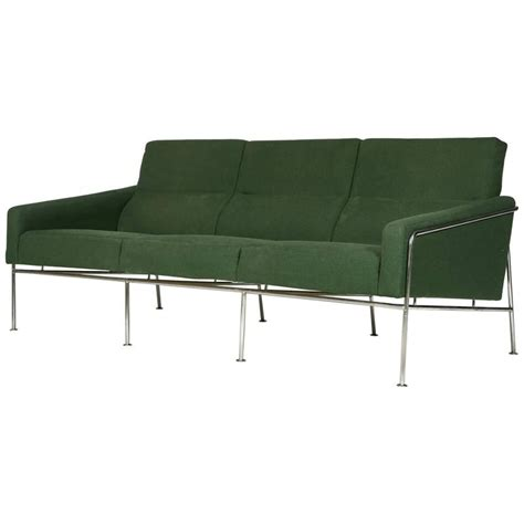 airport sofa arne jacobsen airport sofa 3300 3 model 1957 for sale at
