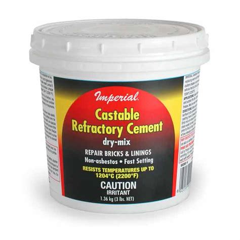 Fireplace Refractory Cement by Castable Refractory Cement 3 Lb Rona