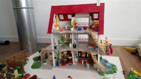 plan de maison a etage 3393 playmobil chambre bebe occasion clasf