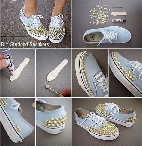 diy studded shoes diy studded sneakers fabdiy