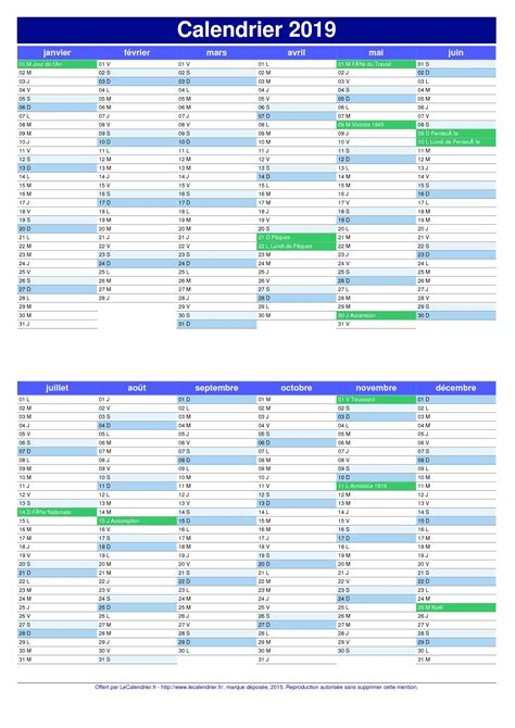 Calendrier 2018 Powerpoint Calendrier 2019 Pdf