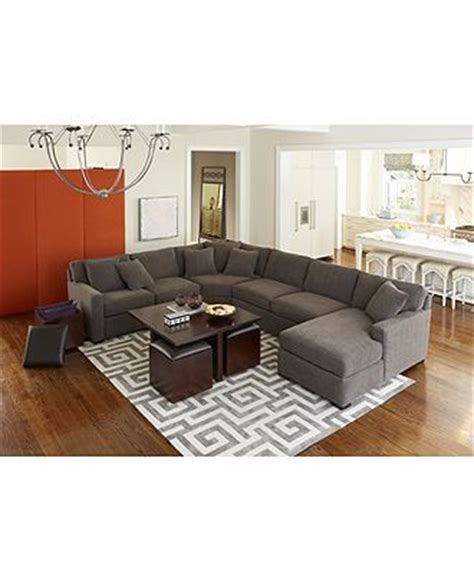 macys radley sectional radley fabric sectional living room furniture sets