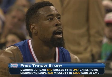 Deandre Jordan Meme - another wonderful stat about deandre jordan and chauncey
