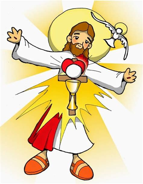 imagenes de jesus animado dibujos para catequesis cuerpo y sangre de jes 218 s