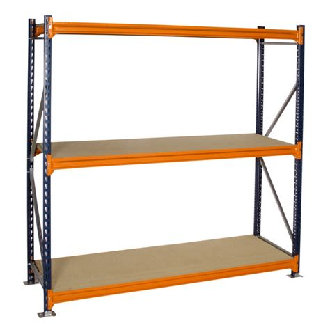 heavy duty 600mm longspan shelving starter bay