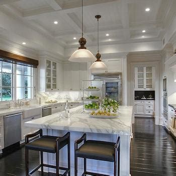 Marble Topped Kitchen Island Kitchen Coffered Ceiling Design Ideas