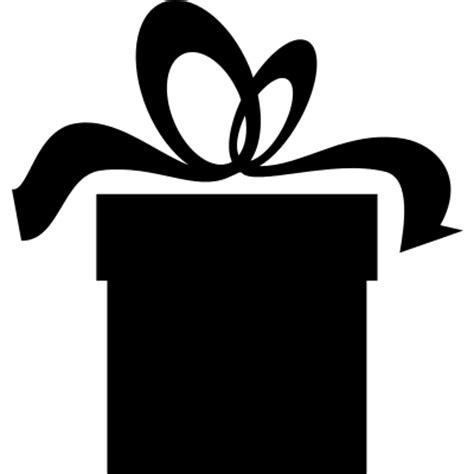 Present box black silhouette ? Free Vectors, Logos, Icons