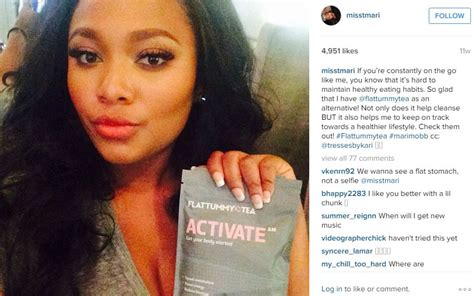 Detox After Surgery by Teairra Mari Sells Laxative Tea After Getting Plastic