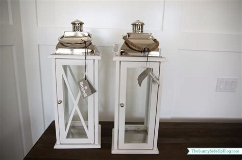 White Lantern Decor by Family Room Decor Update The Side Up