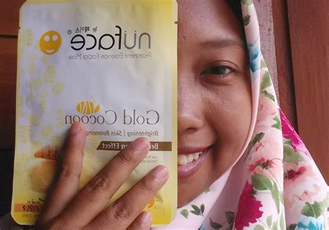 Masker Wajah Nuface nuface prominent essence mask gold cocoon yukcoba in