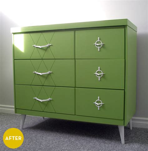 painted mid century modern furniture before after a mid century modern makeover 187 curbly diy design community