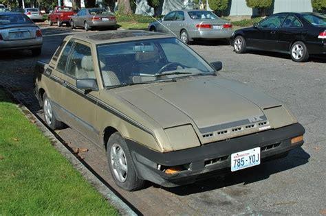 nissan datsun 1983 parked cars 1983 datsun nissan pulsar nx