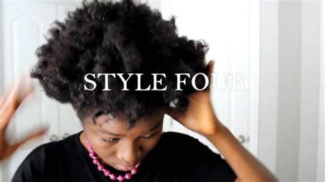 hairstyles to do on a bad hair day 4 easy hair styles for short natural hair 4b 4c hair bad