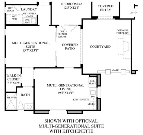 nv homes floor plans los altos the taranto nv home design