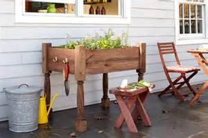 raised herb garden planter diy tutorial hip image