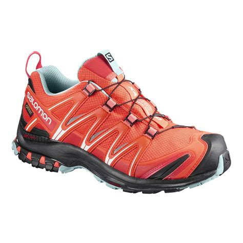zapatillas trail running salomon xa pro  gtx naranja