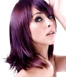 purple hair color pictures purple hair color trend