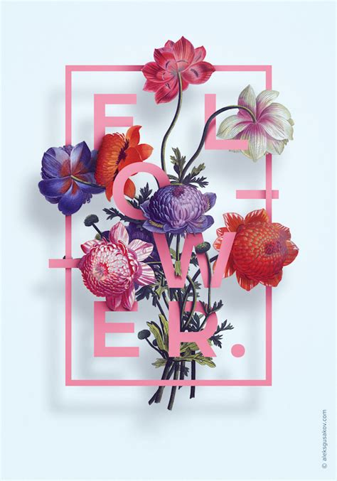 Allover Floral Prints Flatter Lifestyle Magazine 3 by Gorgeous 3d Illustrations Of Flowers Intertwined With